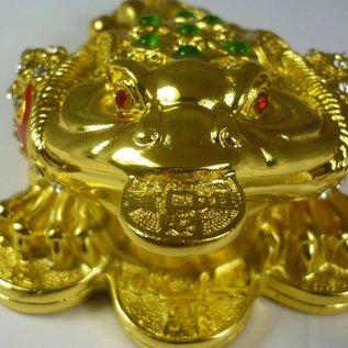 Трёхлапая жаба с монетой
