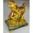 Goldener Affe