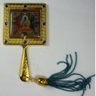 Зеркальце с изображением Будды Медицны
