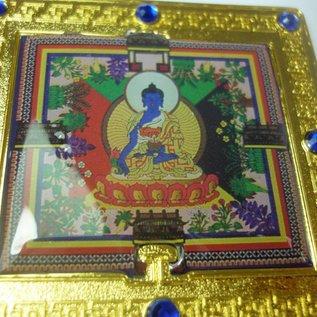 Зеркальце с изображением Будды Медицины