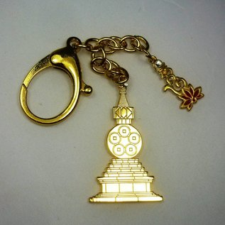 Anhänger Kalachakra Stupa mit Lotus