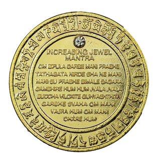 Glücksteigernder edelsteinbesetzter Schlüsselanhänger, d ca. 4cm