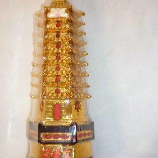 9-stufige Pagode für Bildung und Schutz, ca.20x7cm