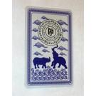 Schutzkarte Nashorn und Elephant