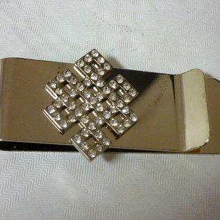 Geldklammer mystischer Knoten, ca. 7x4cm