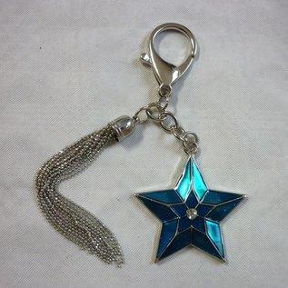 Anhänger himmlischer Stern für Erfolg und Karriere, ca. 12x6cm