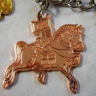 """Брелок """" Тройка лошадей"""" для успеха в карьере и бизнесе"""