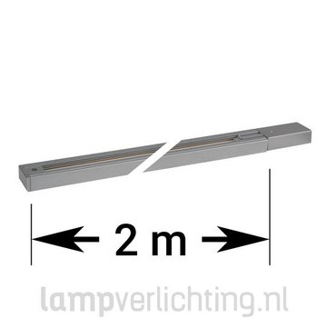 1-Fase Rail Spanningsrail 2 meter