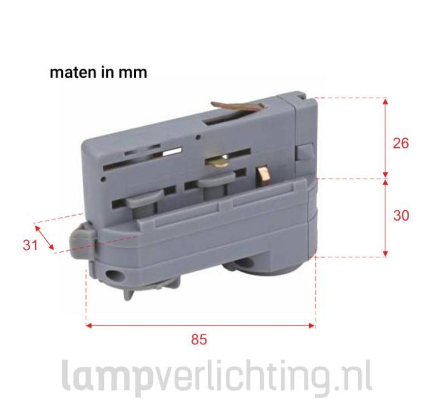 3-Fase Rail Adapter