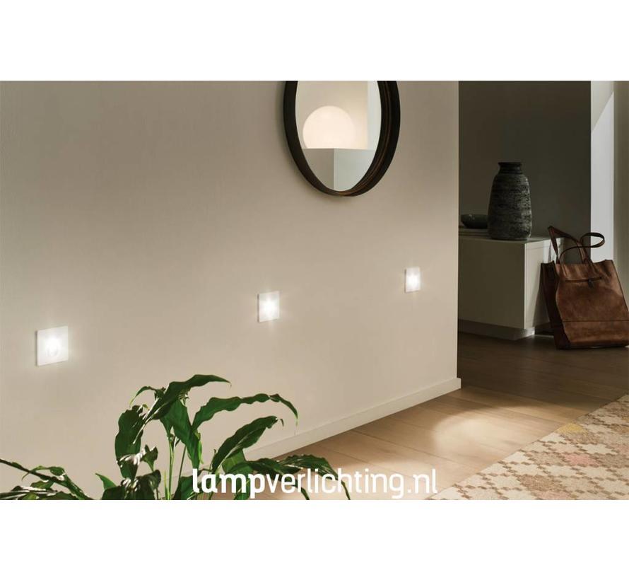 Wand Inbouwspots voor Inbouwdoos 230V VK - Set