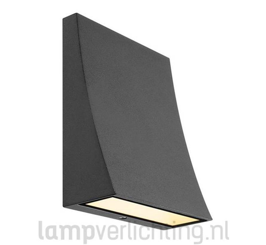 LED Wandverlichting IP44 Wave XL