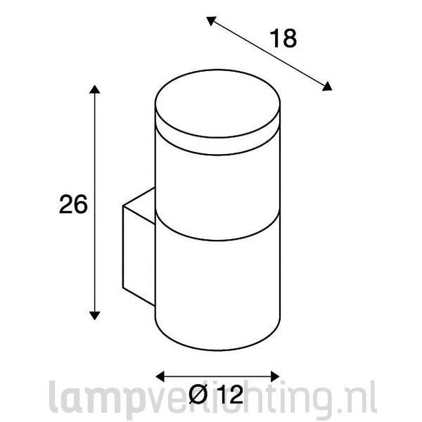 Wandlamp Buiten Modern