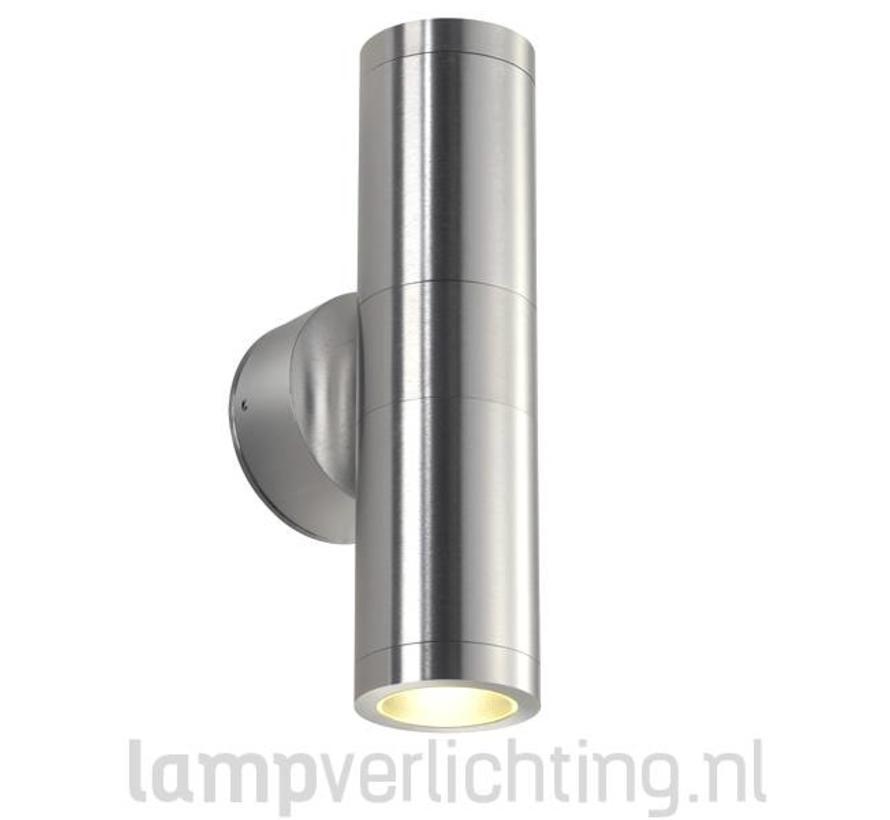 Wandlamp Buiten Cilinder GU10