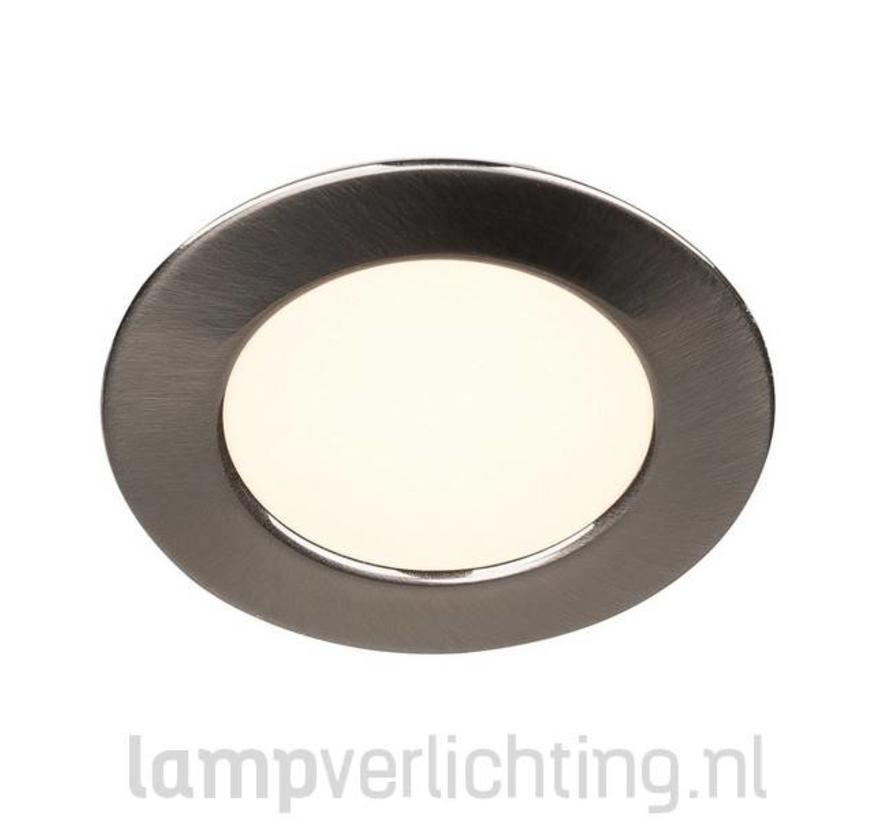 platte led inbouwspot voor gat 57 mm