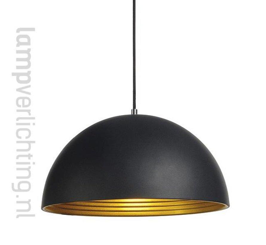 3-Fase Rail Hanglamp Zwart-Goud