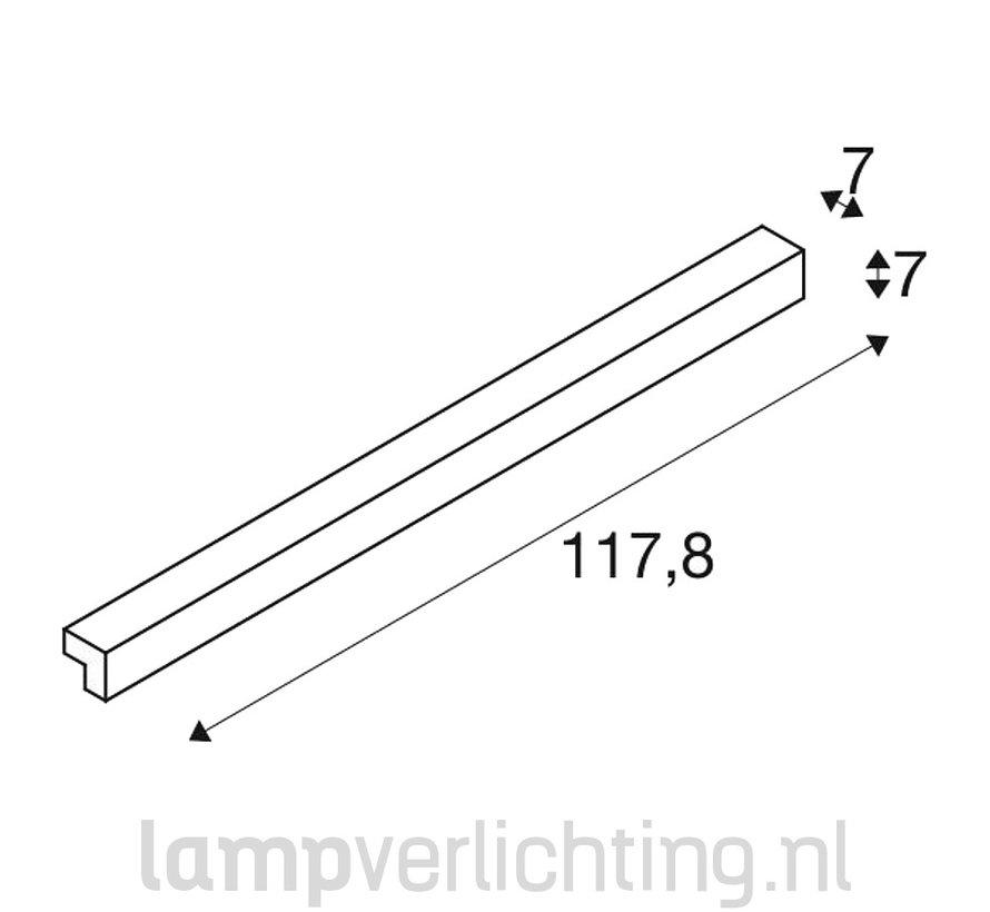 Spiegelverlichting  LED 118 cm