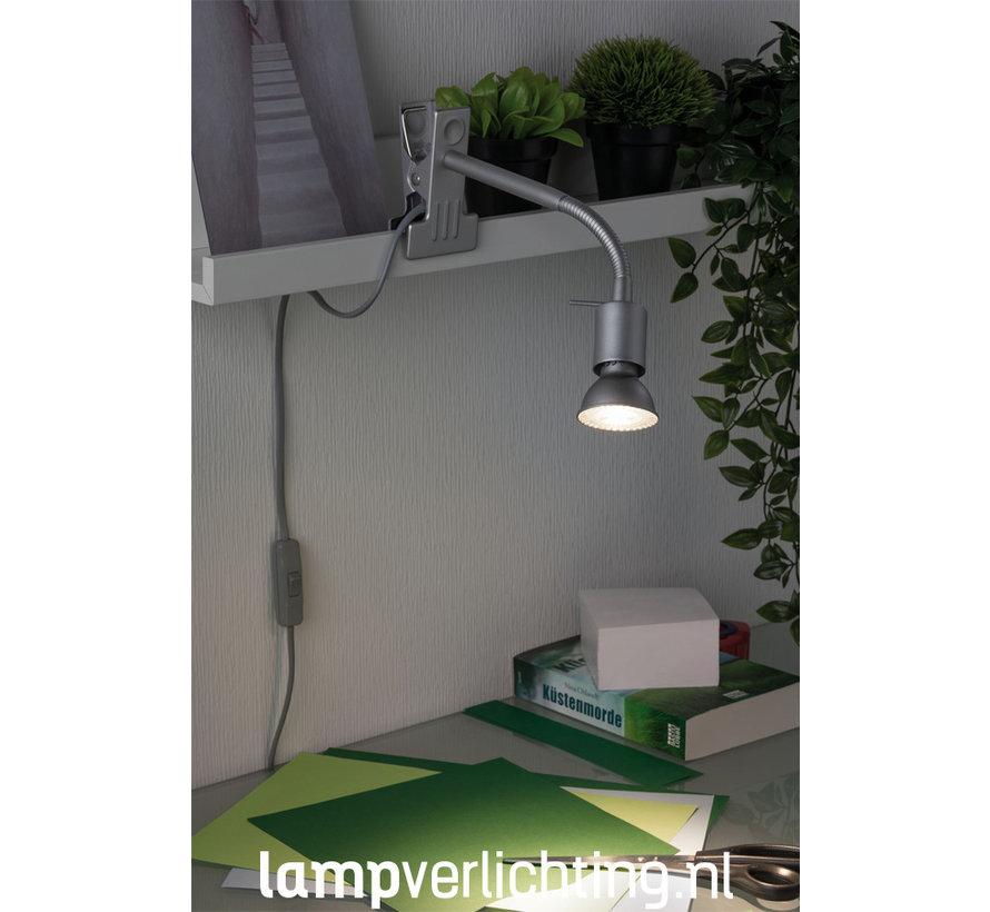 Flexibele Klemspot LED GU10