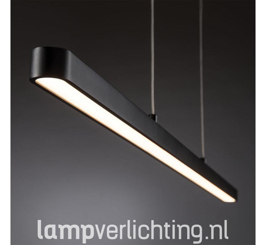 LED Hanglamp bureau zwart - Instelbaar wit