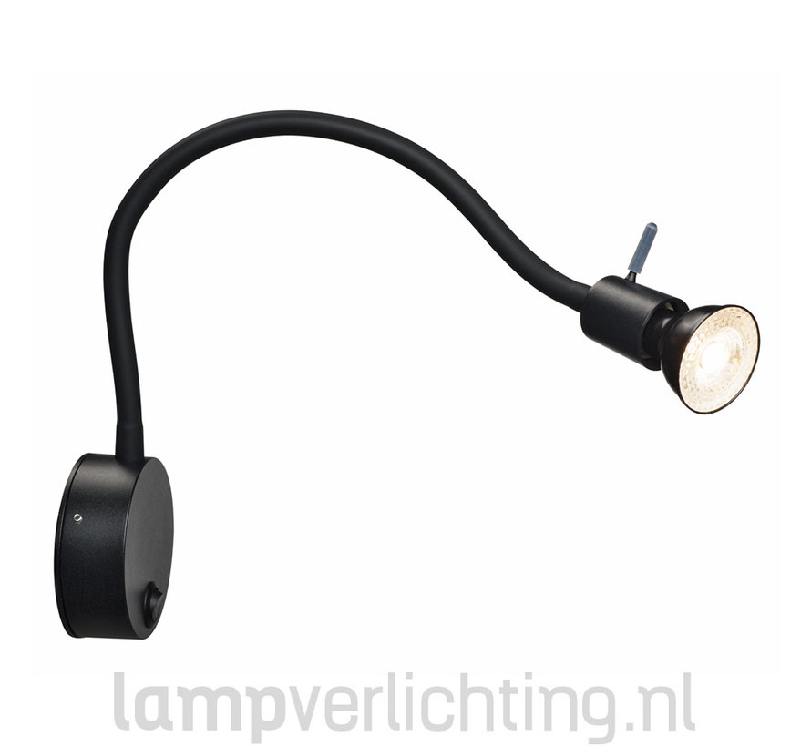 Wand Leeslamp Flexibel GU10