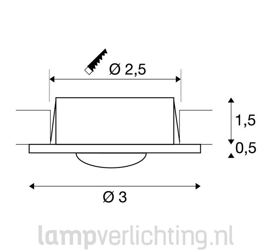 Inbouwspot LED Mini