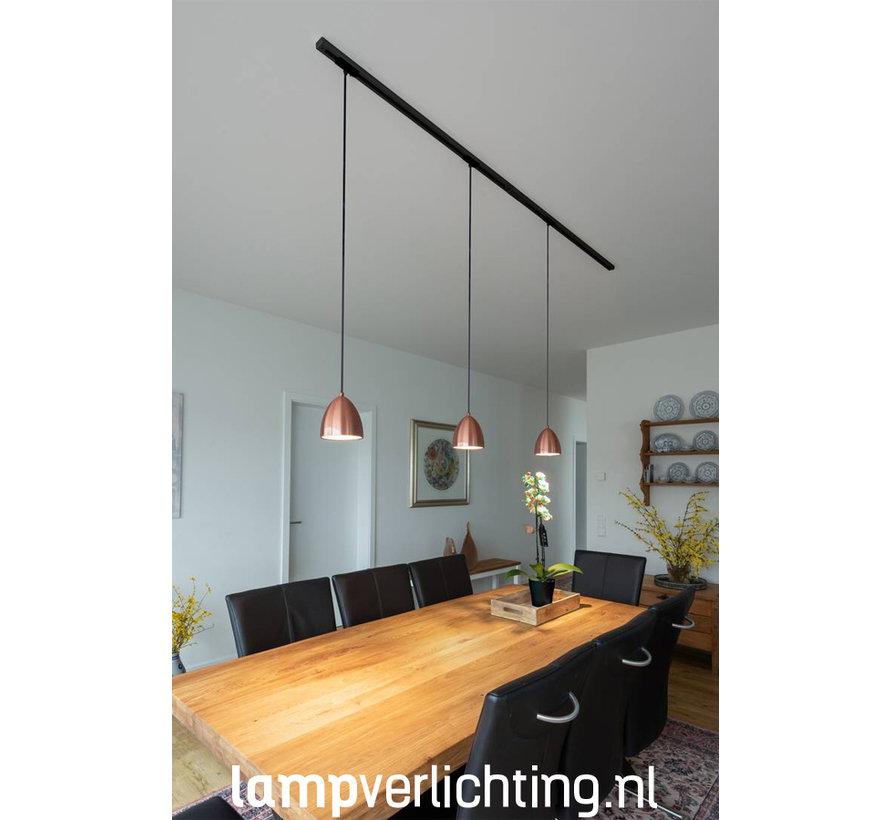 1-Fase Railverlichting Hanglamp Cup
