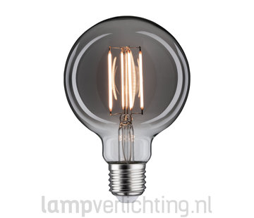LED Filament Dimbaar E27 95mm Rookglas