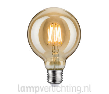 LED Filament Dimbaar E27 95mm Goud
