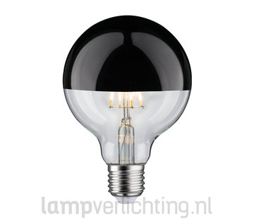 LED Filament Dimbaar E27 95mm Kop Zwart