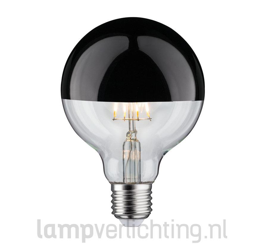 LED Filament Dimbaar E27 95mm Kop Zwart