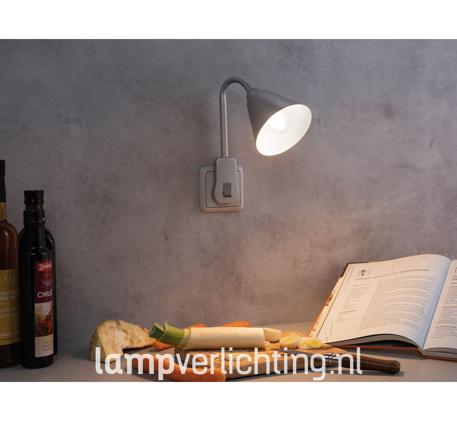 Stekkerlamp met LED lichtbron