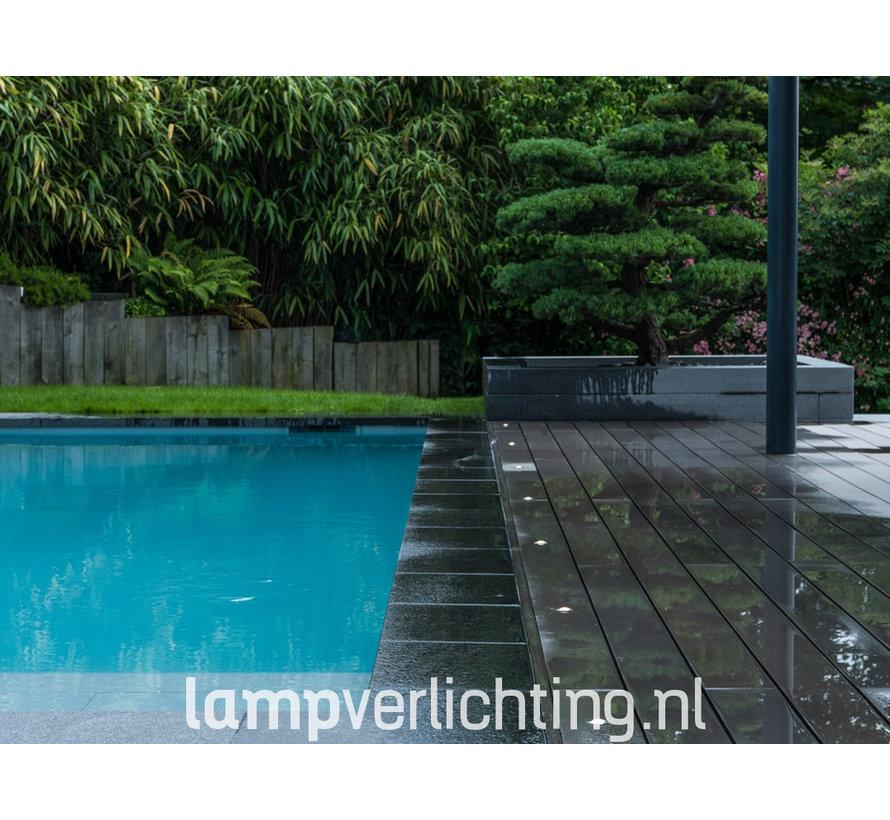 LED Inbouwspot Waterdicht IP67 Rond