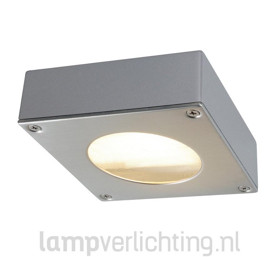 Buitenlamp Plafond Vierkant Plat