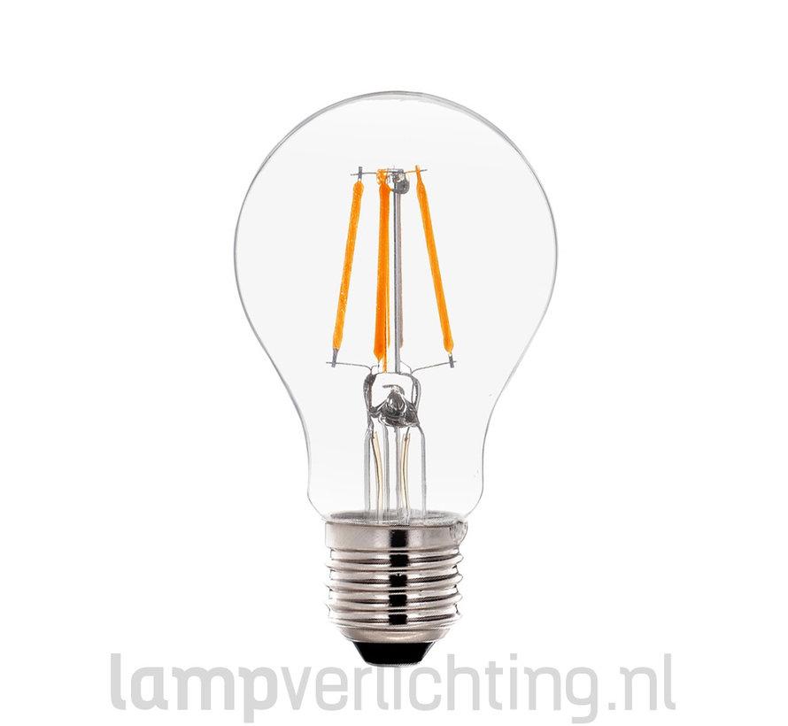 LED Filament Dimbaar E27 60mm Helder