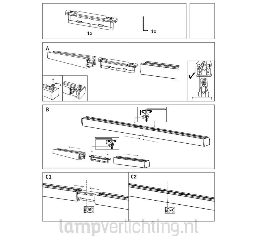 Lux Rail Rechte Verbinder