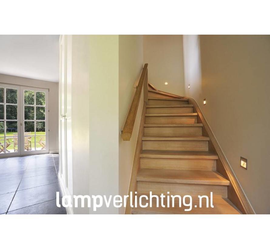 Wand Inbouwspot Trap LED 350mA