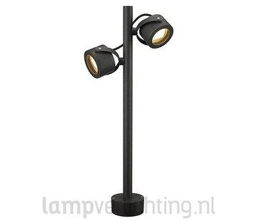 Staande Buitenlamp Dubbel Novem