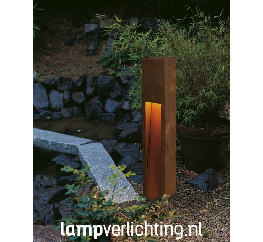 Tuinlamp Roest Cortenstaal Vierkant 80 cm
