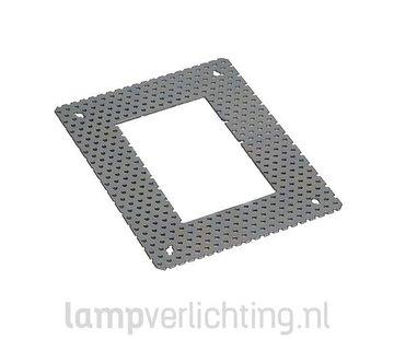 Stucframe voor Inbouwlamp 8x12 cm