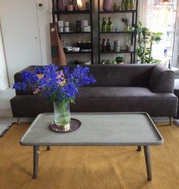 Cartel Living SWING  3-zits ecoleather grey