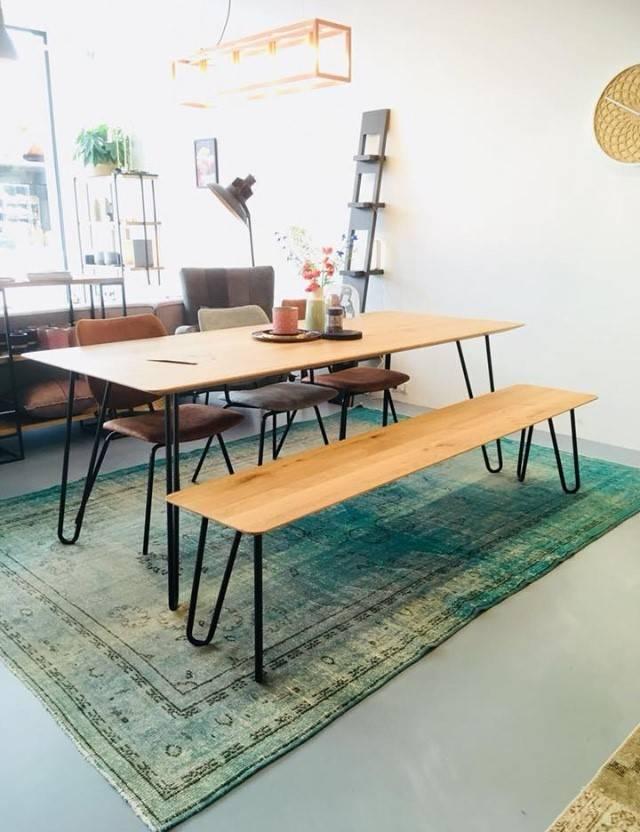 Seuren JAMIE  tafel & OLIVER bankje