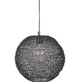 Bodilson SPINNER  hanglamp black /white/gold
