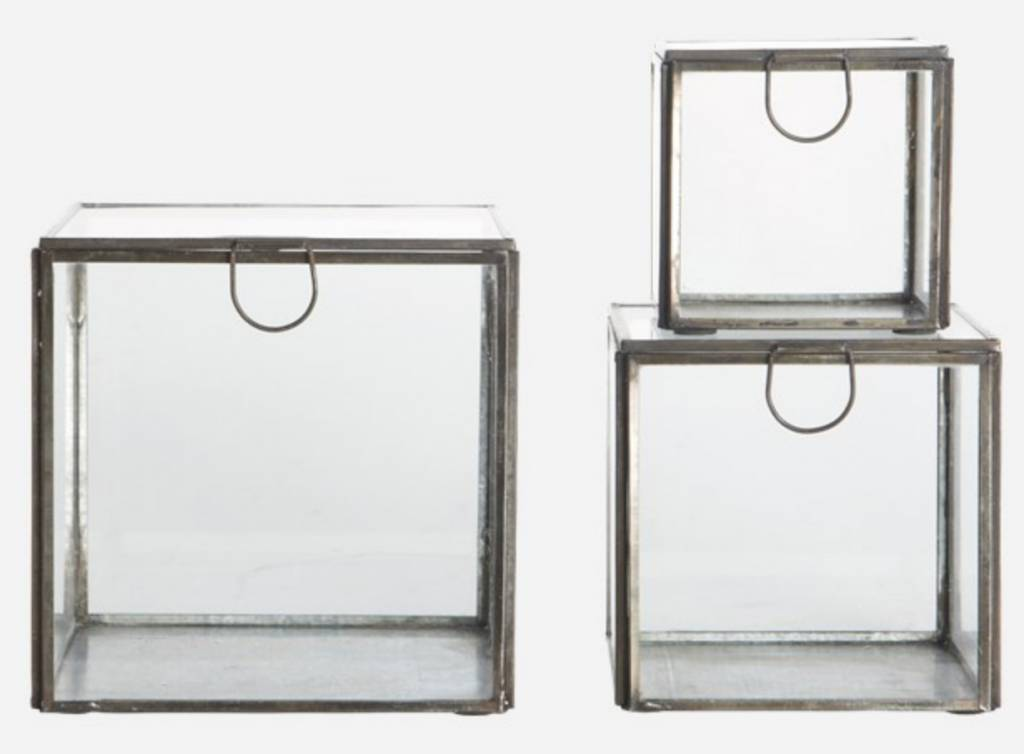 House Doctor GLASS  BOXES