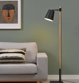 It's about Romi VLOERLAMP SIDNEY black/ white