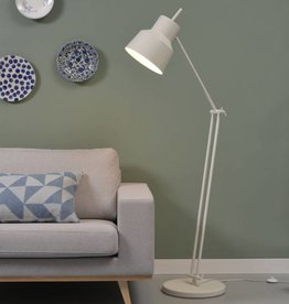 It's about Romi VLOERLAMP BELFAST white/ grey / black