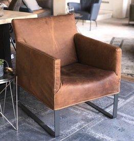 Label Van Den Berg COPPOLA fauteuil  showmodel