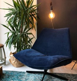 Cartel Living SMILE  BLUE  draaifauteuil