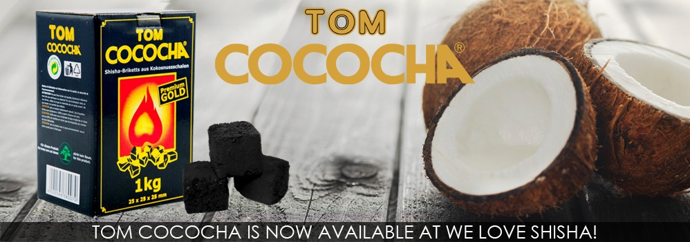 Tom Cococha is now available at We Love Shisha!