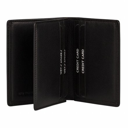 Burkely portemonnees Heren portemonnee zwart Burkely 045988.10