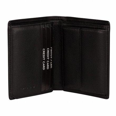 Burkely portemonnees Heren portemonnee zwart Burkely 045788.10
