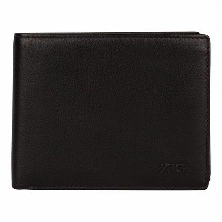 Burkely portemonnees Heren portemonnee zwart Burkely 045688.10